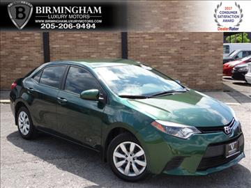 2014 Toyota Corolla for sale in Birmingham, AL