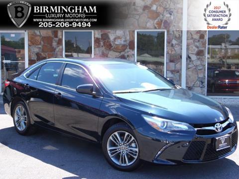 2016 Toyota Camry for sale in Birmingham, AL
