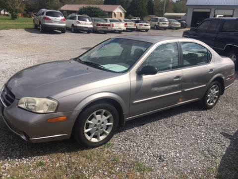 2001 Nissan Maxima for sale in Athens, TN
