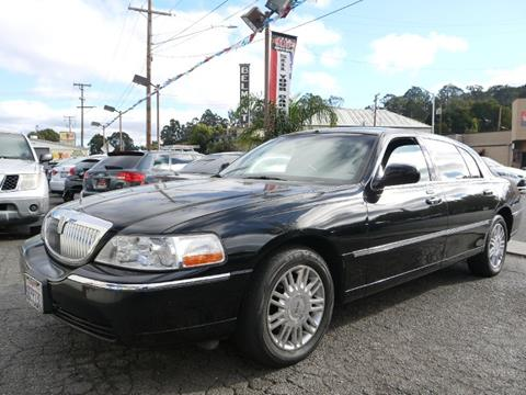 2008 Lincoln Town Car for sale in San Mateo, CA
