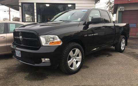 2012 RAM Ram Pickup 1500 for sale at MyEstablishedCredit.com in Salem OR