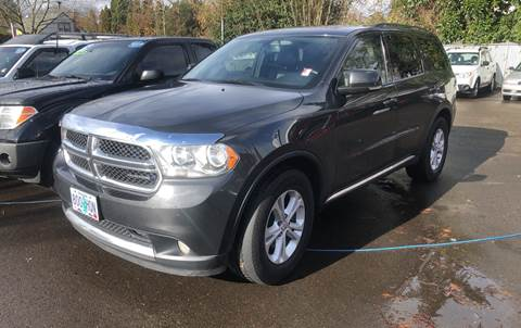 2011 Dodge Durango for sale at MyEstablishedCredit.com in Salem OR