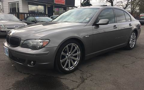 2008 BMW 7 Series for sale at MyEstablishedCredit.com in Salem OR