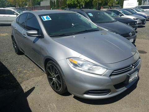 2016 Dodge Dart for sale at MyEstablishedCredit.com in Salem OR