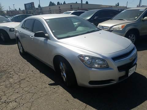 2012 Chevrolet Malibu for sale at MyEstablishedCredit.com in Salem OR