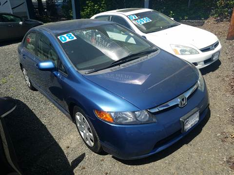 2008 Honda Civic for sale at MyEstablishedCredit.com in Salem OR