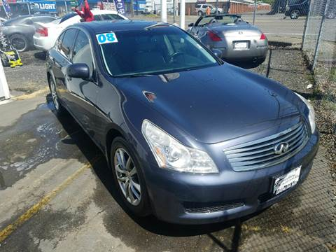 2008 Infiniti G35 for sale at MyEstablishedCredit.com in Salem OR