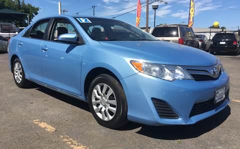 2012 Toyota Camry for sale at MyEstablishedCredit.com in Salem OR
