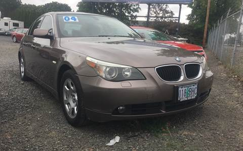 2004 BMW 5 Series for sale at MyEstablishedCredit.com in Salem OR