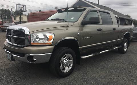 2006 Dodge Ram Pickup 2500 for sale at MyEstablishedCredit.com in Salem OR