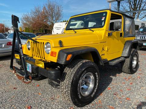 2001 Jeep Wrangler for sale in Salem, OR