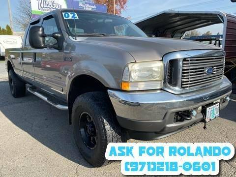 2002 Ford F-350 Super Duty for sale at MyEstablishedCredit.com in Salem OR