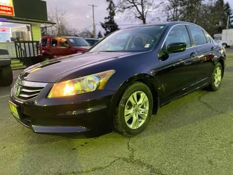 2012 Honda Accord for sale at MyEstablishedCredit.com in Salem OR