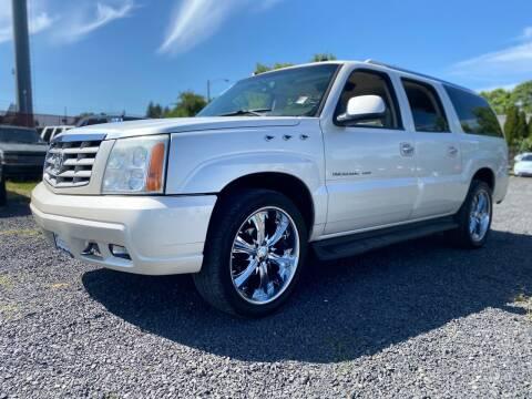 2005 Cadillac Escalade ESV for sale at MyEstablishedCredit.com in Salem OR