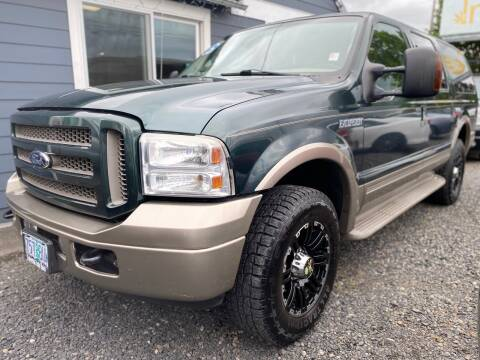 2005 Ford Excursion for sale at MyEstablishedCredit.com in Salem OR
