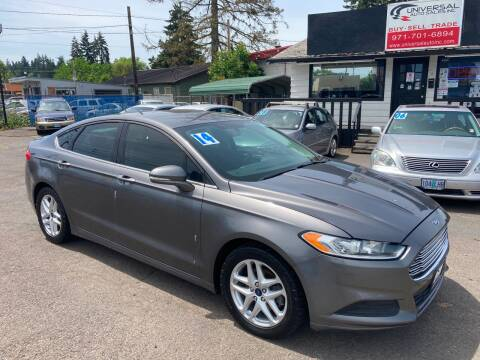 2014 Ford Fusion for sale at MyEstablishedCredit.com in Salem OR
