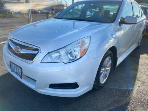 2011 Subaru Legacy for sale at MyEstablishedCredit.com in Salem OR