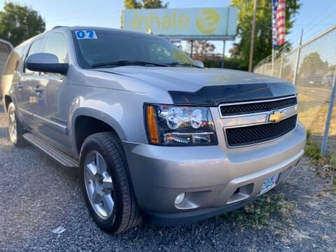 2007 Chevrolet Suburban for sale at MyEstablishedCredit.com in Salem OR
