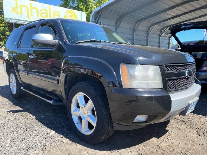 2007 Chevrolet Tahoe for sale at MyEstablishedCredit.com in Salem OR