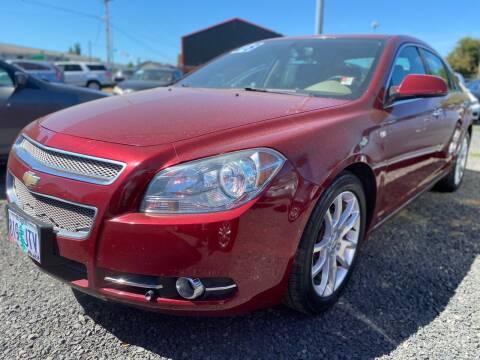 2008 Chevrolet Malibu for sale at MyEstablishedCredit.com in Salem OR