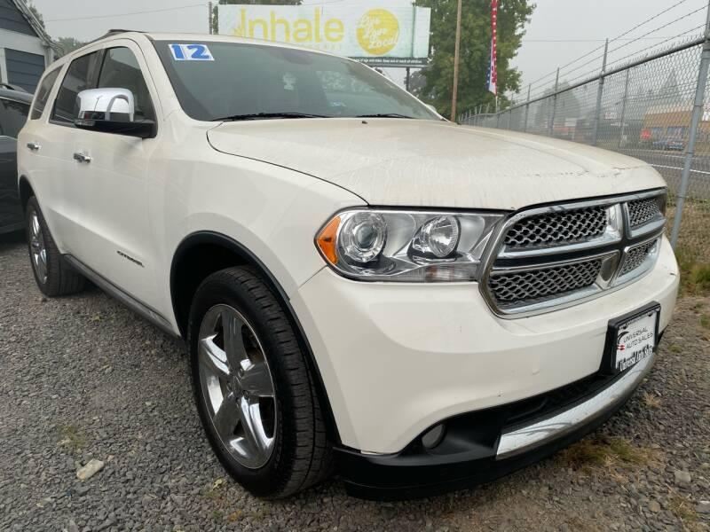 2012 Dodge Durango for sale at MyEstablishedCredit.com in Salem OR