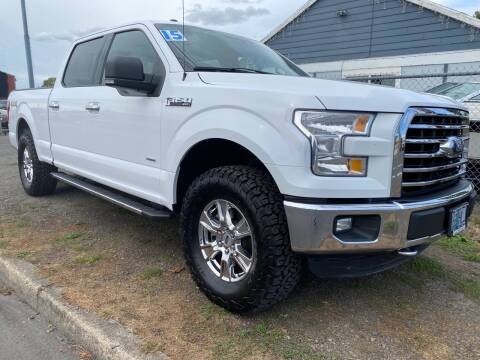 2015 Ford F-150 for sale at MyEstablishedCredit.com in Salem OR