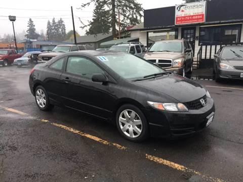 2011 Honda Civic for sale in Salem, OR