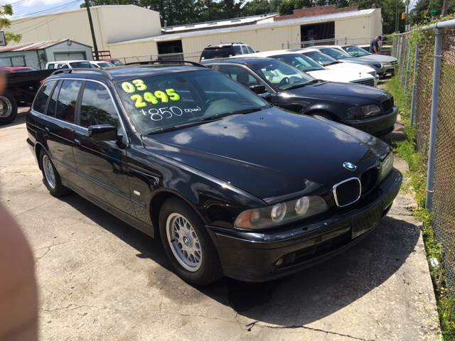 2003 bmw 5 series 525i 4dr sport wagon in wilmington nc. Black Bedroom Furniture Sets. Home Design Ideas