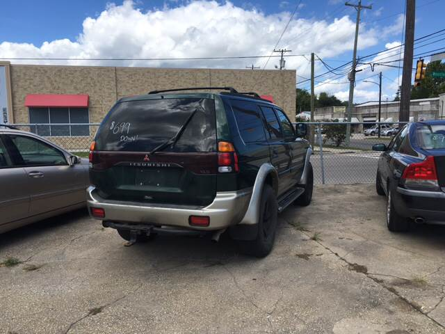 Buy Here Pay Here Wilmington Nc >> 2000 Mitsubishi Montero Sport 4dr XLS 4WD SUV In Wilmington NC - Atlantic Car Center