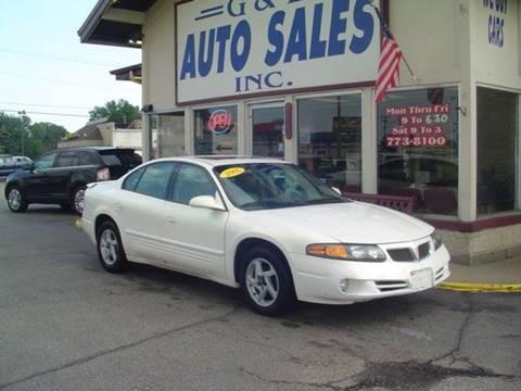 2005 Pontiac Bonneville for sale in Roseville, MI