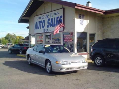 2000 Chevrolet Monte Carlo for sale in Roseville, MI