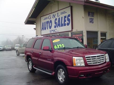 2002 Cadillac Escalade for sale in Roseville, MI