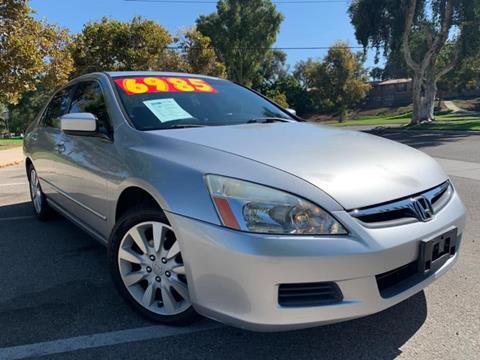 2006 Honda Accord for sale in Corona, CA