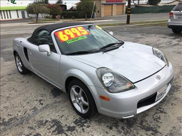 2000 Toyota MR2 Spyder for sale in Corona, CA