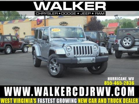 2017 Jeep Wrangler Unlimited for sale in Hurricane WV