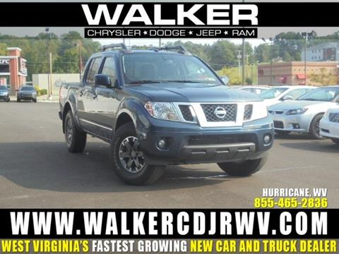 2015 Nissan Frontier for sale in Hurricane WV