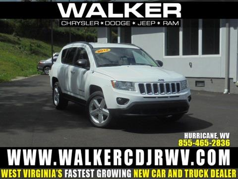 2012 Jeep Compass for sale in Hurricane, WV