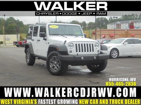 2015 Jeep Wrangler Unlimited for sale in Hurricane WV