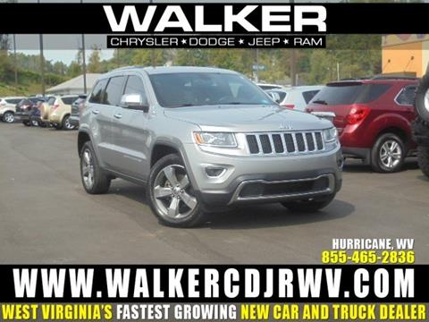 2014 Jeep Grand Cherokee for sale in Hurricane, WV
