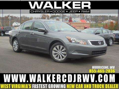 2010 Honda Accord for sale in Hurricane, WV