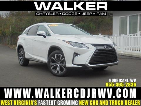 2017 Lexus RX 350 for sale in Hurricane WV