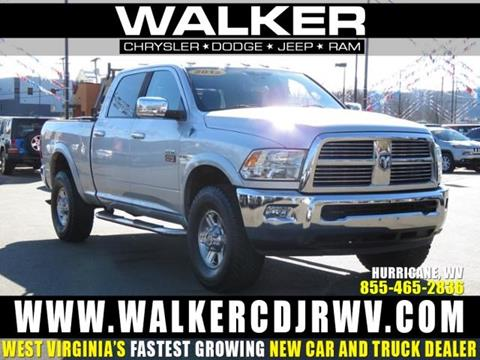 2012 RAM Ram Pickup 2500 for sale in Hurricane, WV