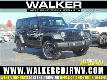 2017 Jeep Wrangler Unlimited for sale in Hurricane, WV