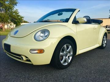 2004 Volkswagen New Beetle for sale in Fredericksburg, VA