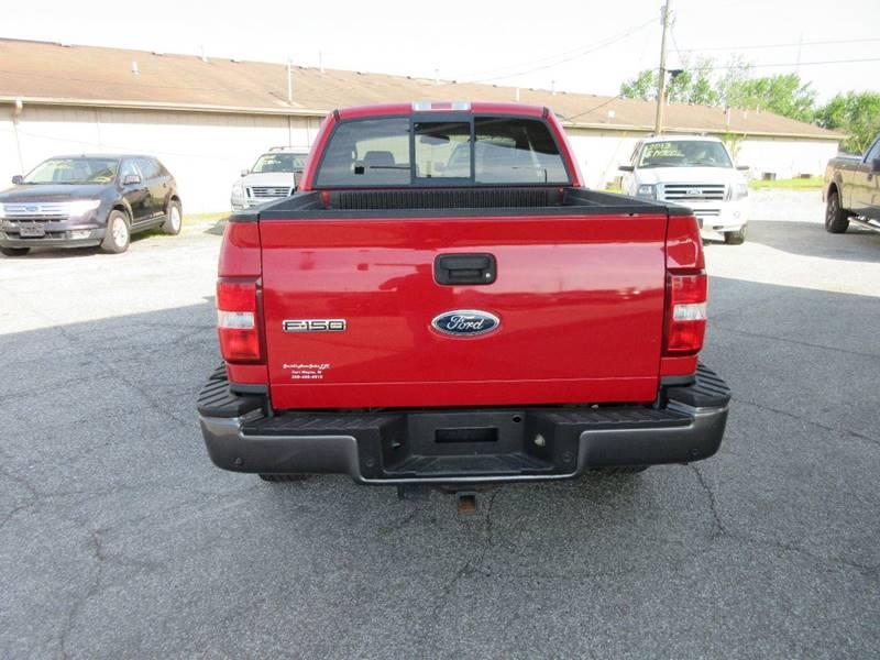 2005 Ford F-150 4dr SuperCab FX4 4WD Flareside 6.5 ft. SB - Fort Wayne IN
