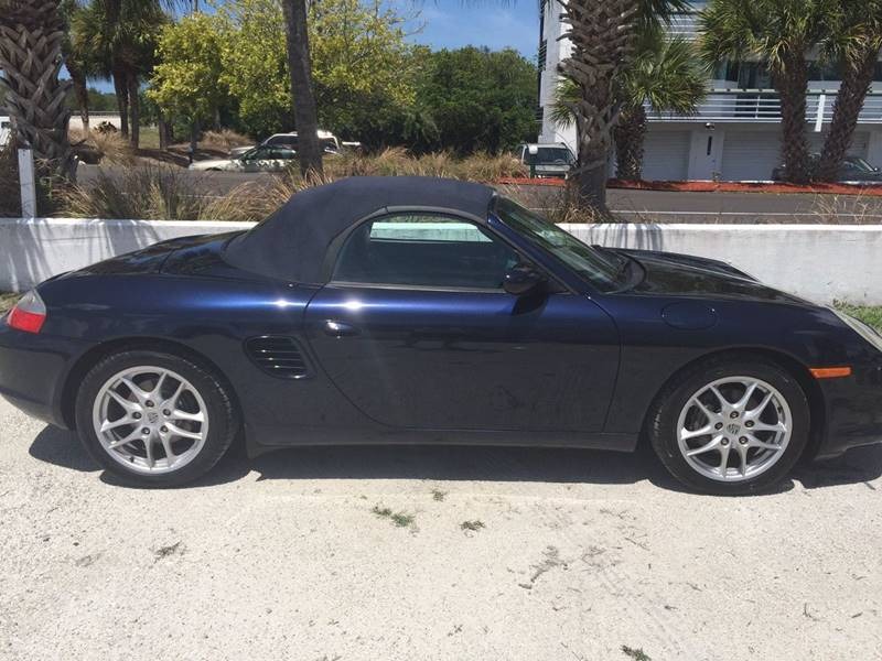 2004 Porsche Boxster 2dr Roadster - Englewood FL