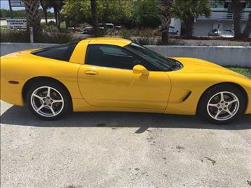 2001 Chevrolet Corvette for sale in Englewood, FL