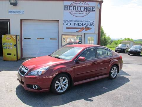 2013 Subaru Legacy for sale in Rural Retreat, VA
