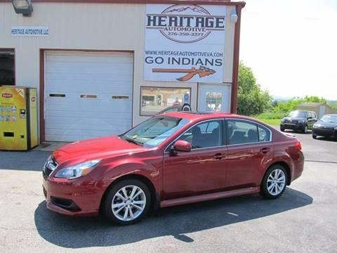 2014 Subaru Legacy for sale in Rural Retreat, VA