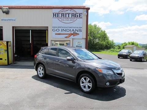 2013 Acura RDX for sale in Rural Retreat, VA
